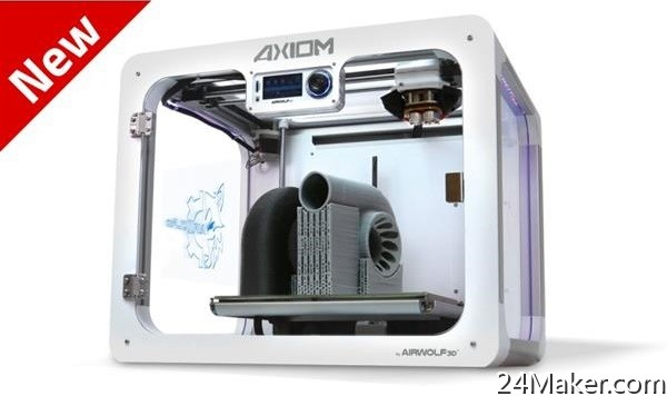 Airwolf 3D公司推出新型AXIOM 2 3D打印机